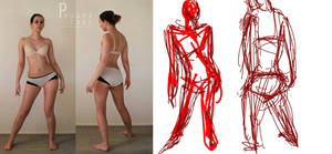 Character Design: Gesture Drawing by txwatson