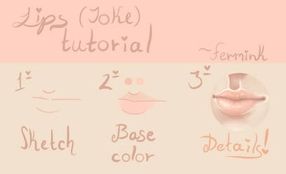 Lips (Joke) tutorial