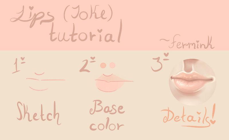 Lips (Joke) tutorial