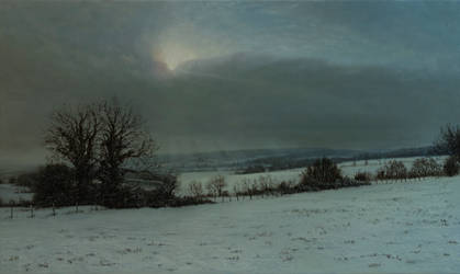 White lands after the snow flurry by MHandt