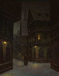 Another Study on Schikaneder by MHandt