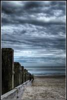 Littlehampton Beach 2 by killyourown