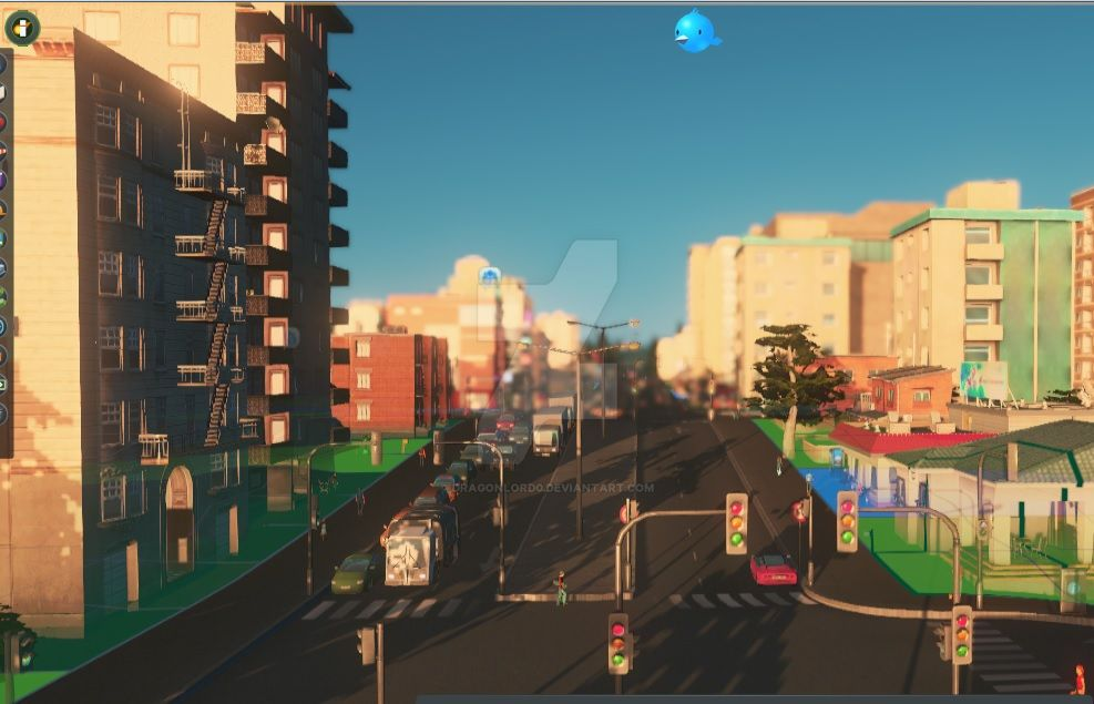 Helgen in  Cities:Skylines by DragonLord0