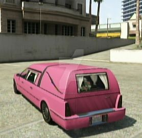 Barbie Hearse by DragonLord0