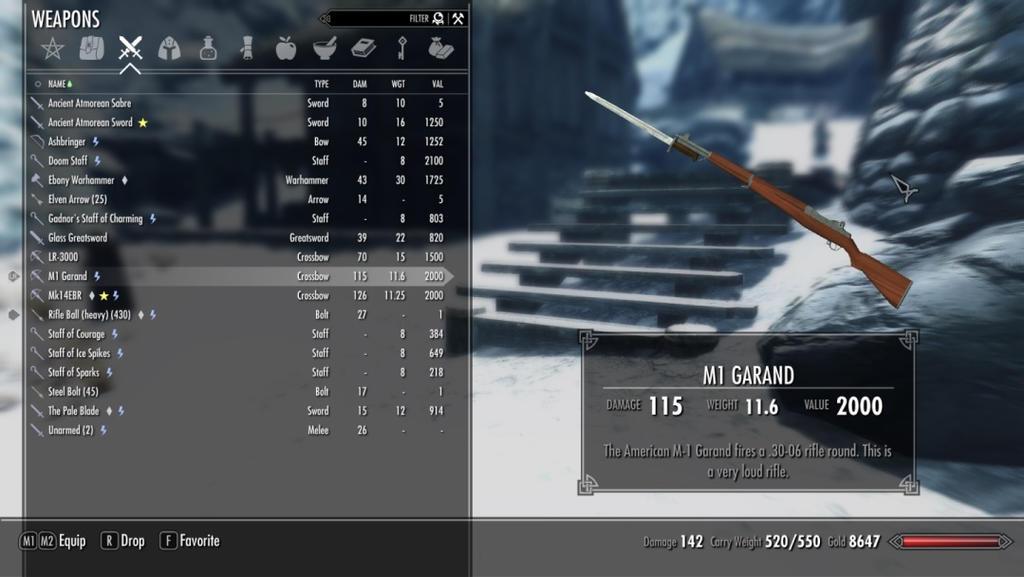 Guns in Skyrim mod? by DragonLord0 on DeviantArt