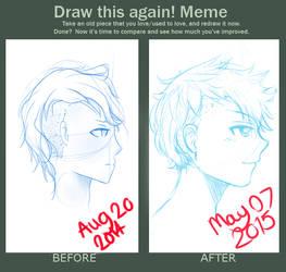 Draw this again! Meme by RanbaraPrincess