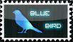 Blue Bird Stamp by Cheza18