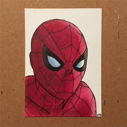 Spider-Man sketch card by ethancastillo