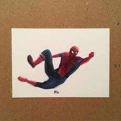 Tiny Spider-Man by ethancastillo