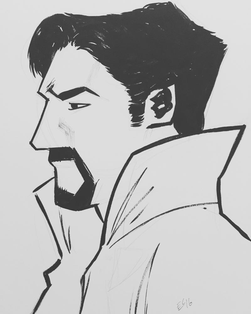 Doctor Strange by ethancastillo