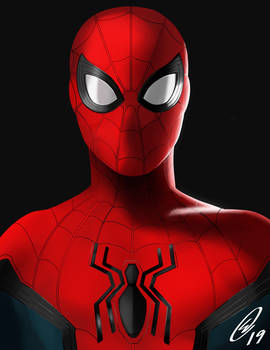 Spider-Man digital drawing