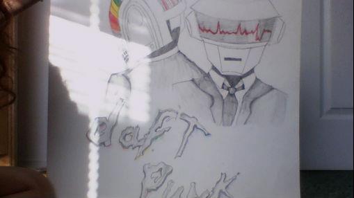 Daft Punk Poster by Meenieminnimo