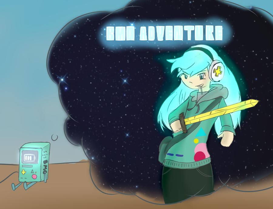 BMO Dream : BMO Adventure by netnavi20x5