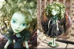 monster high custom repaint gothic fairy