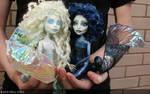 Monster high customs Mariana and Aurora  Mermaid