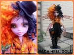 monster high custom repaint Halloween fairy mh
