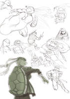 Turtles turtles and...guess? by Jasentha