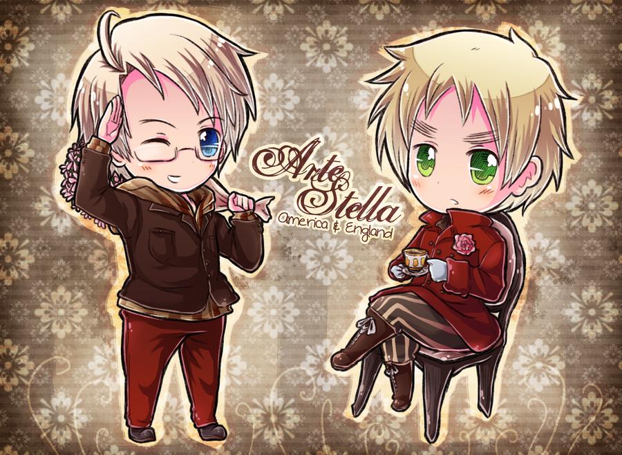 Arte Stella USUK by say0ran