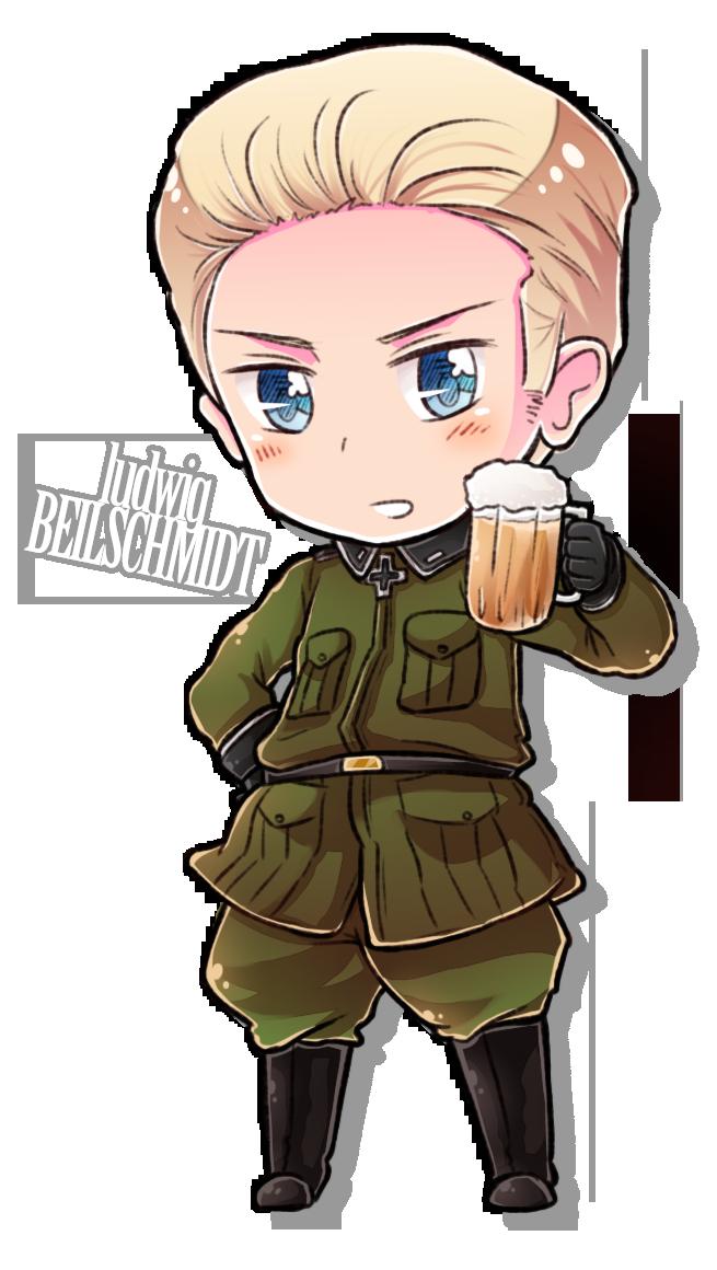 Chibi Drinking