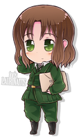 Chibi Series - Lithuania by say0ran