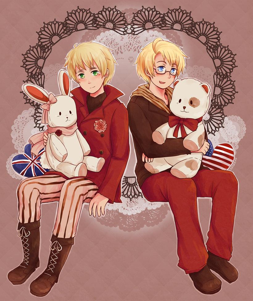 Little Bunnies and Teddy Bears by say0ran