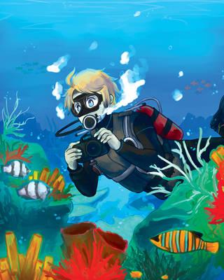 Exploring the seas by say0ran