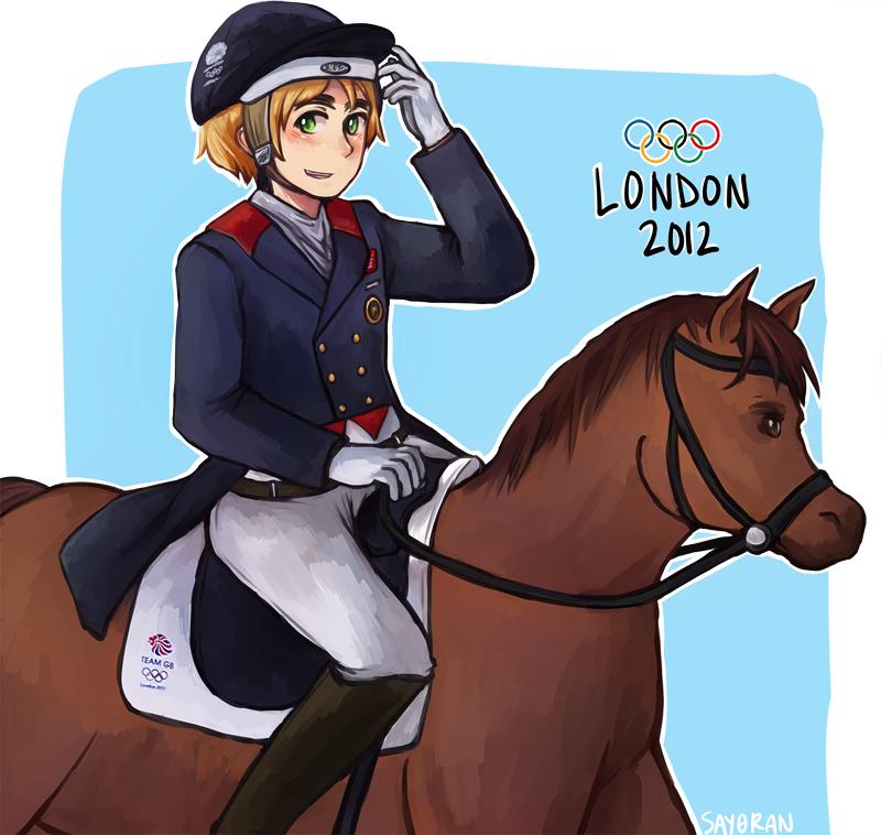 Dressage Olympics 2012 by say0ran
