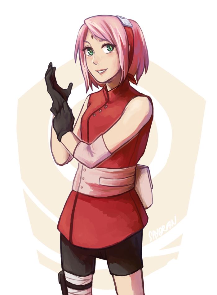 Naruto - Sakura, The Last by say0ran