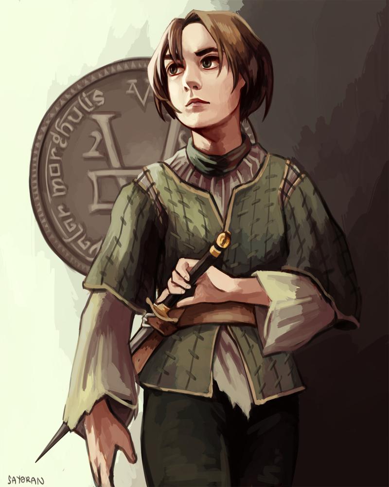 Arya Stark by say0ran ... Eragon And Arya Drawings
