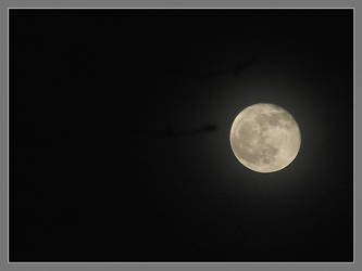 Full moon in the mist by Alexandru-MM
