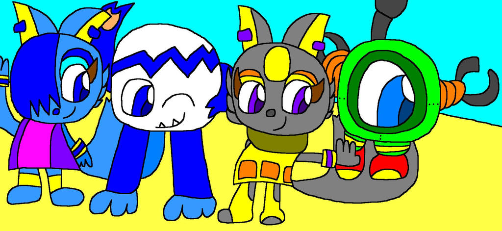 Pac Man Party New Characters By WoofaXLucy321 On DeviantArt