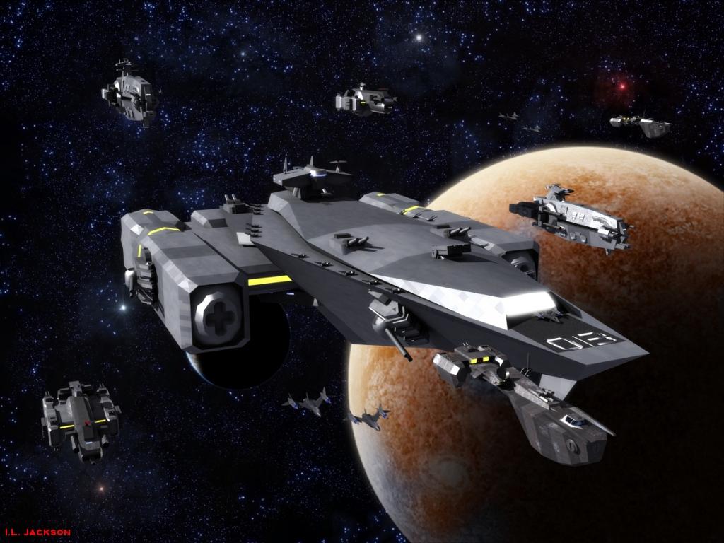 Carrier Fleet by ILJackson