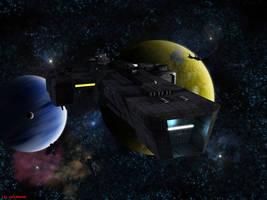 Archer-class carrier refit by ILJackson