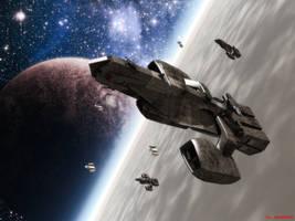 Falchion-Class Battlecruiser by ILJackson