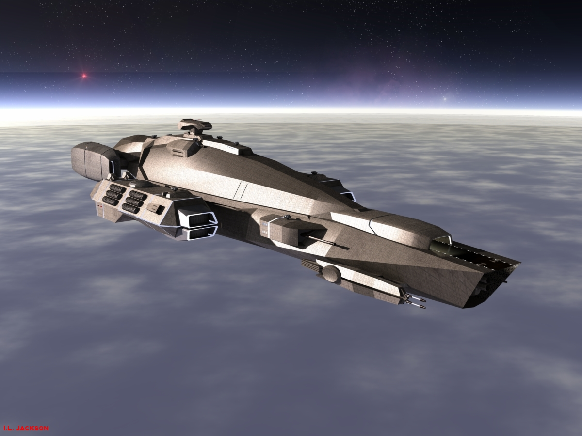 Decisive-Class Battlecarrier by ILJackson