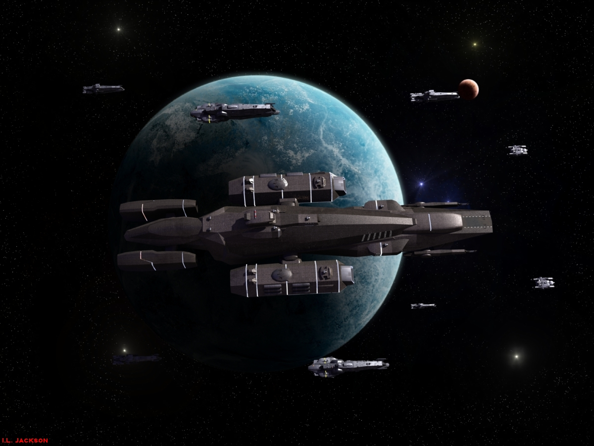 The Resolute Battle Group by ILJackson
