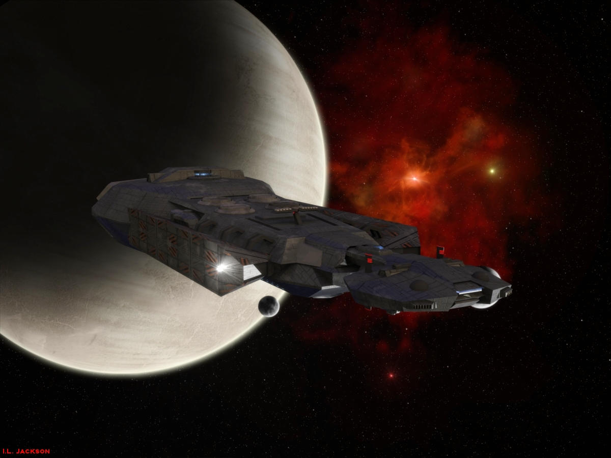 Ceres Class Supertanker by ILJackson