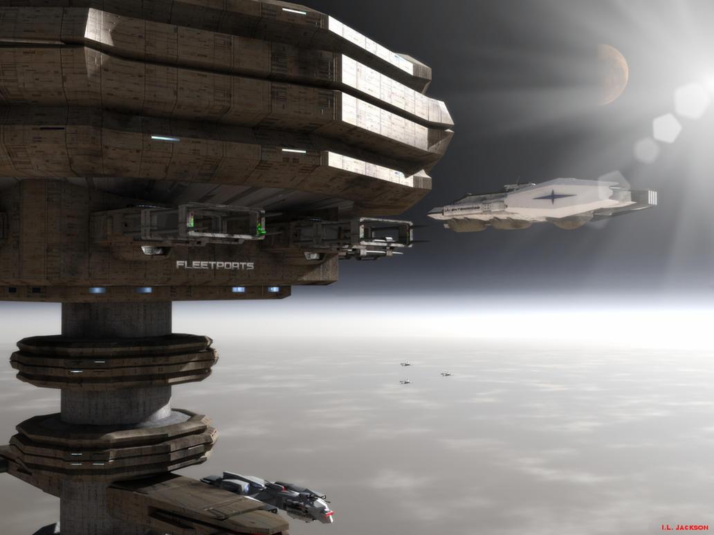Fleetports arrival by ILJackson