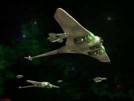 Battle Ray Patrol by ILJackson