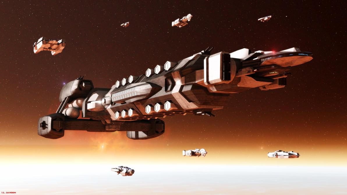 Archangel in Flight by ILJackson