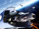 Skirmisher in Spacedock
