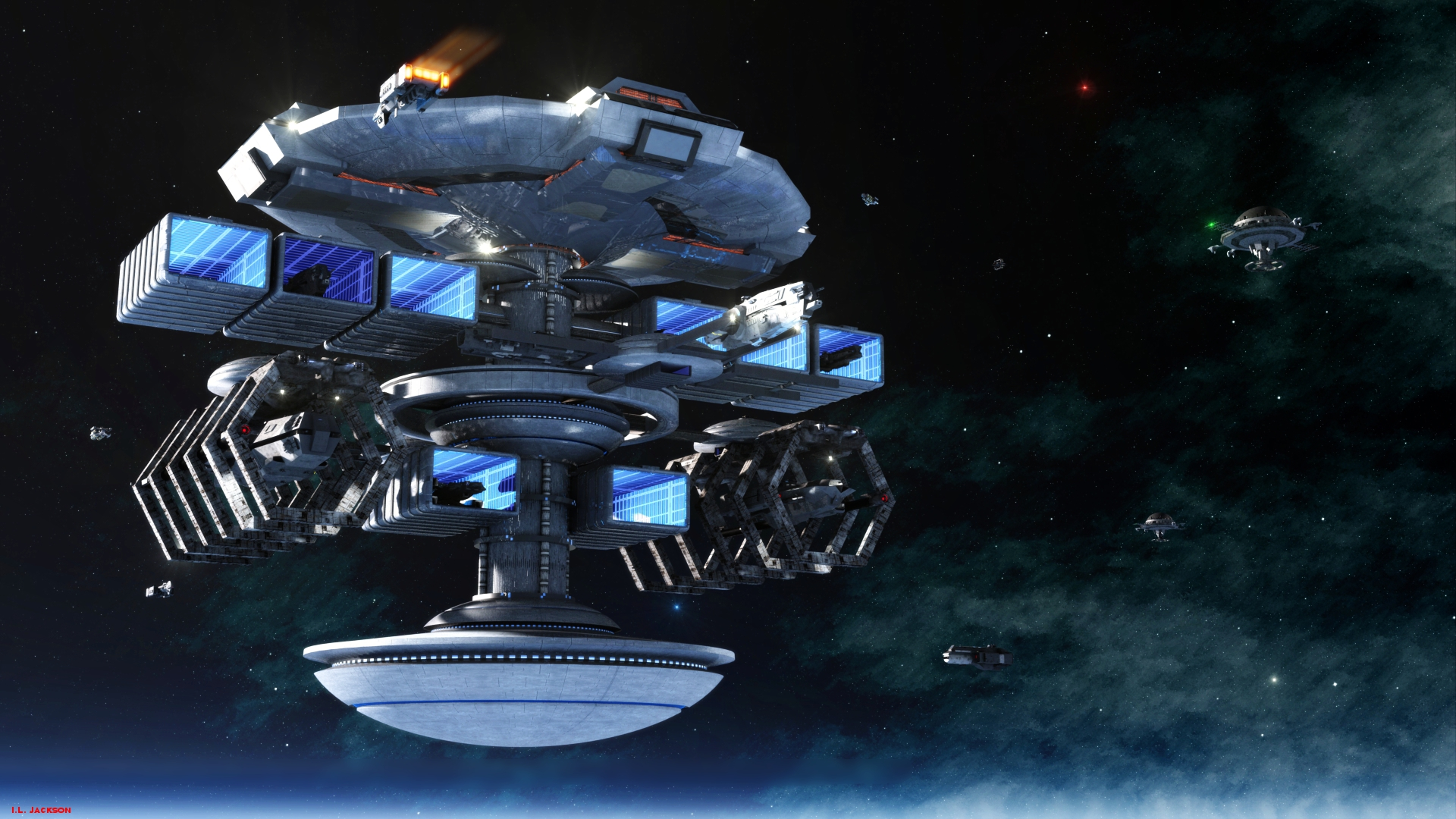 Stellar Navy Headquarters by ILJackson