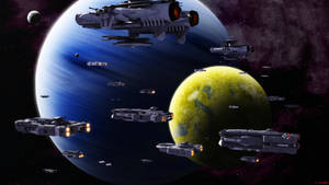 Alexandria Defense Fleet by ILJackson