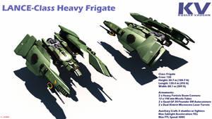 Lance Class Heavy Frigate by ILJackson
