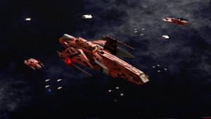 Imperial Consortium Whiplash Assault Carrier