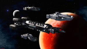Stellar Navy Carriers by ILJackson