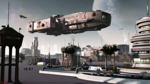 Landing At Murdoch Field by ILJackson