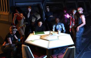 Crew of the Endeavor by ILJackson