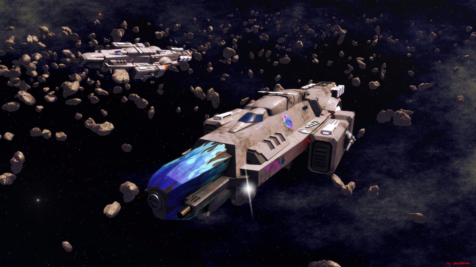 Dagger Class Corvettes by ILJackson