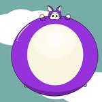 Ballooned Arctic Fox